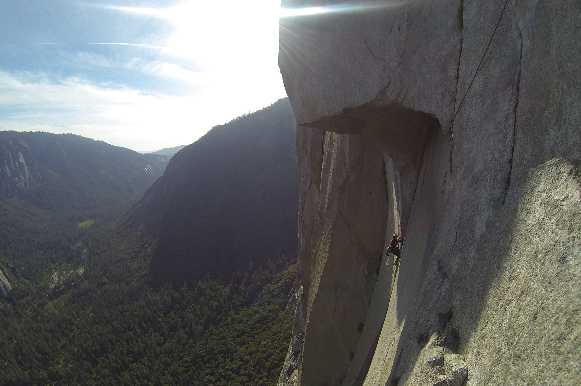 grimpe yosemite the nose the roof