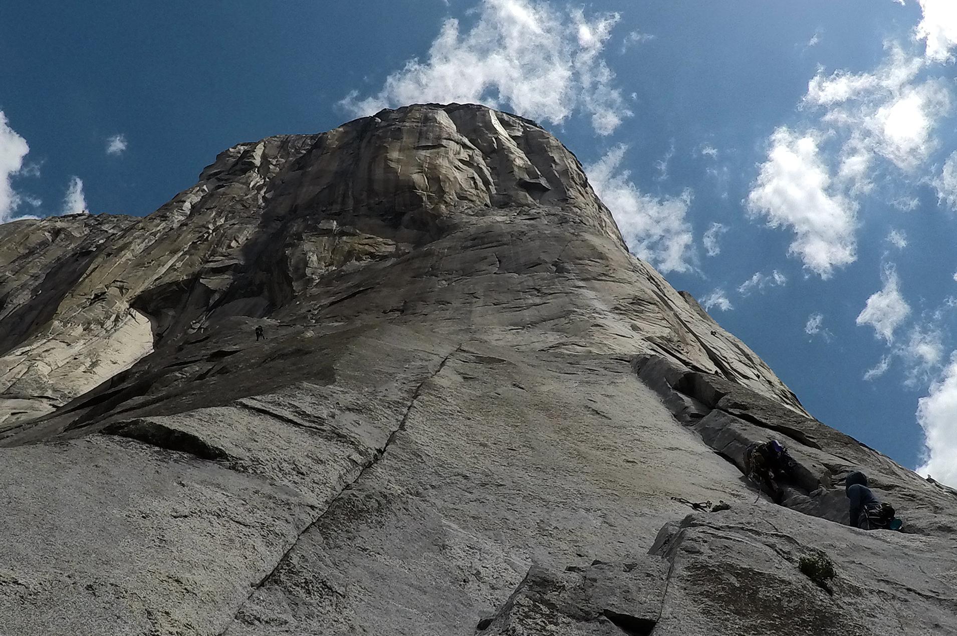 grimpe yosemite