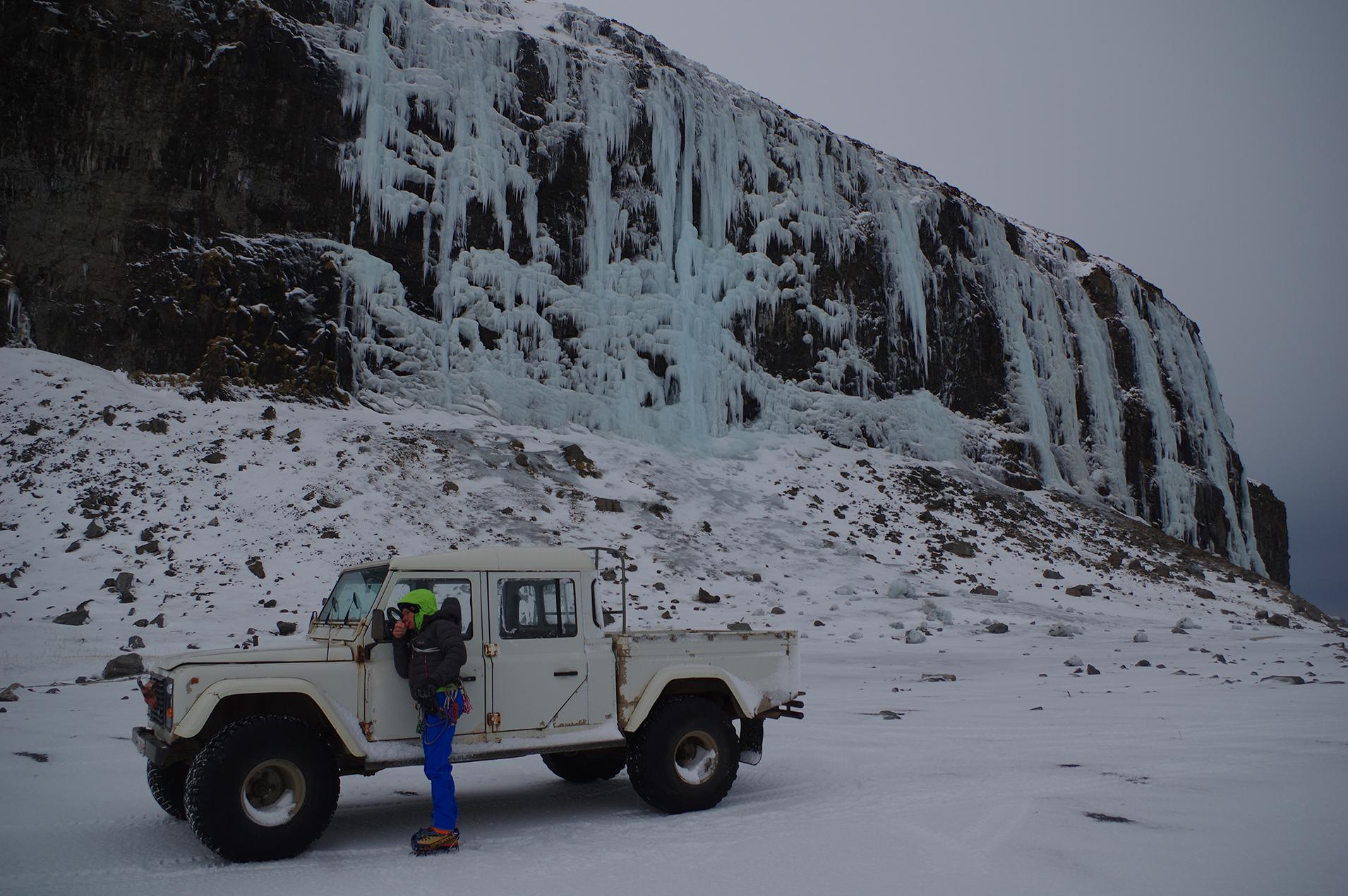 Kaldakinn Islande glace